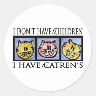 El pegatina de Catren