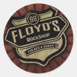 El pegatina de Floyd