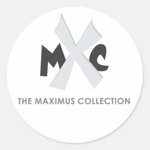 El pegatina de la colección de Maximus