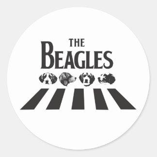 El pegatina de los beagles