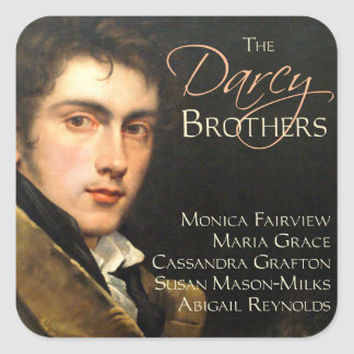 El pegatina de los hermanos de Darcy