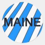 El pegatina de Maine