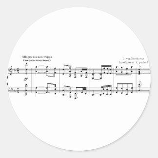 El pegatina de no. 9 de la sinfonía