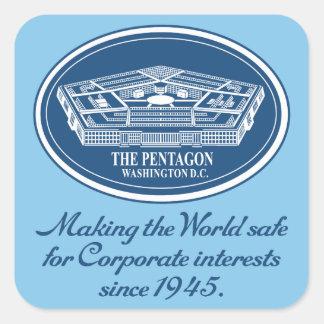 El pegatina de Pentágono