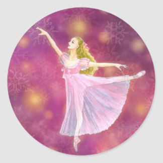 El pegatina del ballet del cascanueces - Clara