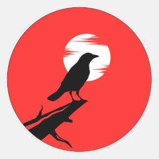 el pegatina del cuervo