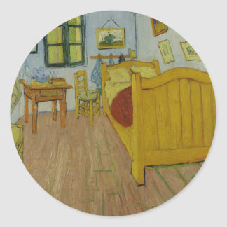 El pegatina del dormitorio