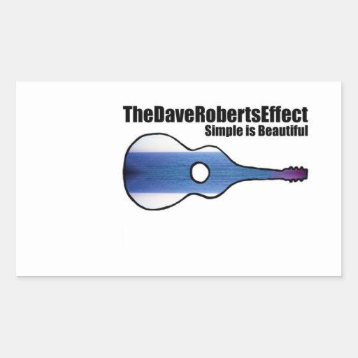 El pegatina del EP del efecto de Dave Roberts
