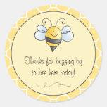 El pegatina del favor el | manosea la abeja
