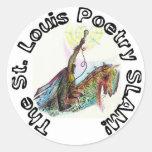 El pegatina del golpe de la poesía de St. Louis
