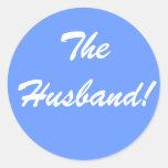 El pegatina del marido