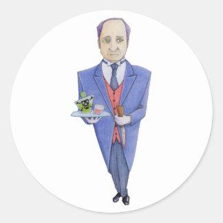 El pegatina del mayordomo