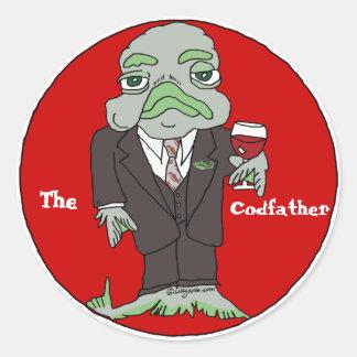El pegatina del personalizado de Codfather