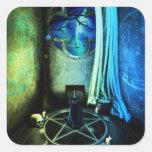El pegatina del sitio de las brujas