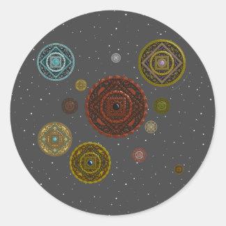 El pegatina del zodiaco