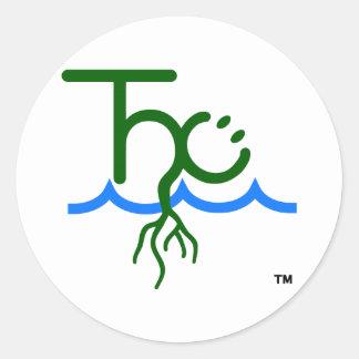 El pegatina feliz del logotipo de Cultivator™ THC