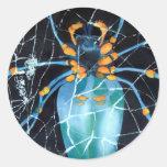 El pegatina Lrg de la araña