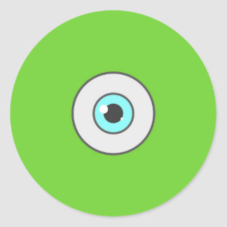 El pegatina mínimo del ojo