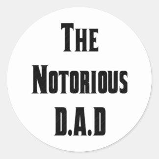 El pegatina notorio de D.A.D