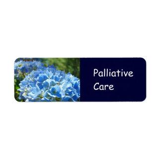 El pegatina paliativo del cuidado etiqueta etiquetas de remite