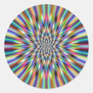 El pegatina redondo de Big Bang