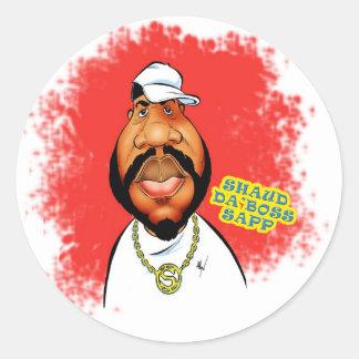 El pegatina Shaud DA dirige Sapp