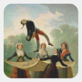 El Pelele  1791-2 Square Sticker