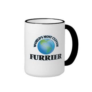 El peletero más listo del mundo tazas de café