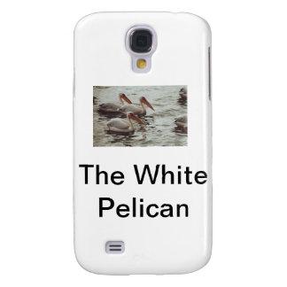 El pelícano blanco funda para galaxy s4