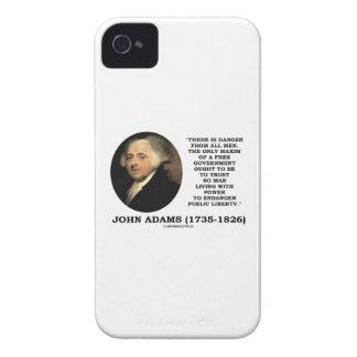 El peligro de John Adams toda la máxima de los iPhone 4 Funda