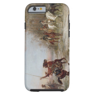 El peligro de Napoleon en el Brienne-le-Castillo Funda De iPhone 6 Tough