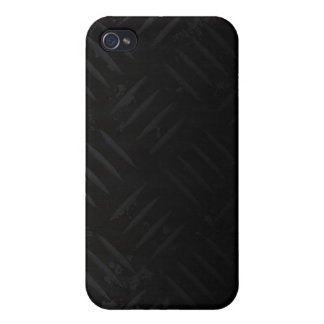 El peligro del Grunge raya la placa del diamante iPhone 4 Fundas