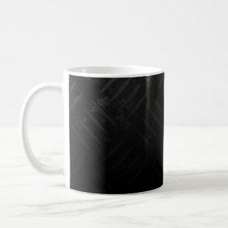 El peligro del Grunge raya la placa del diamante Taza De Café
