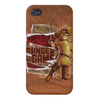 El peligro es mi juego 2 iPhone 4 cárcasa