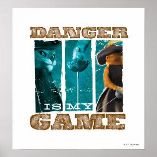El peligro es mi juego (el trullo) póster
