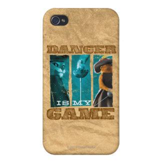 El peligro es mi juego iPhone 4 fundas