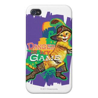 El peligro es mi juego iPhone 4 cárcasa