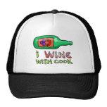 El pellizcar del vino gorra
