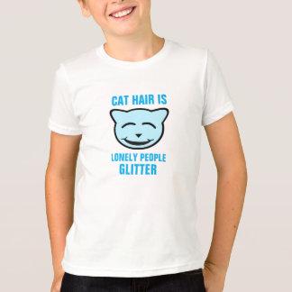 El pelo del gato es brillo solo de la gente playera