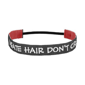 El pelo del karate no cuida bandas de cabello antideslizantes