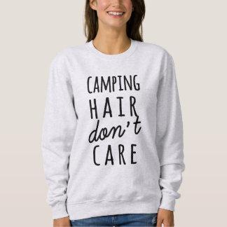 El pelo que acampa no cuida la camisa