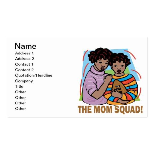 El pelotón de la mamá tarjetas de visita