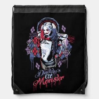 El pelotón del suicidio el | Harley Quinn entintó Mochilas