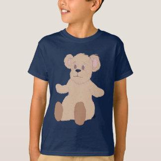 El peluche quiere una camiseta de los niños del