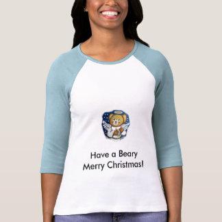 ¡el peluche, tiene Felices Navidad de un Beary! Playeras