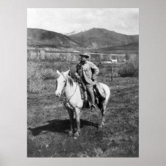 El peluche va oso Hunting, 1905 Póster