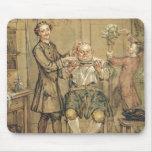 El peluquero, c.1760-69 (aceite en lona) mousepad