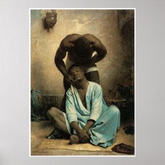 El peluquero de Suez, 1876 Posters
