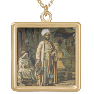 """El peluquero, del """"recuerdo de El Cairo"""", 1862 (li Joyerias Personalizadas"""