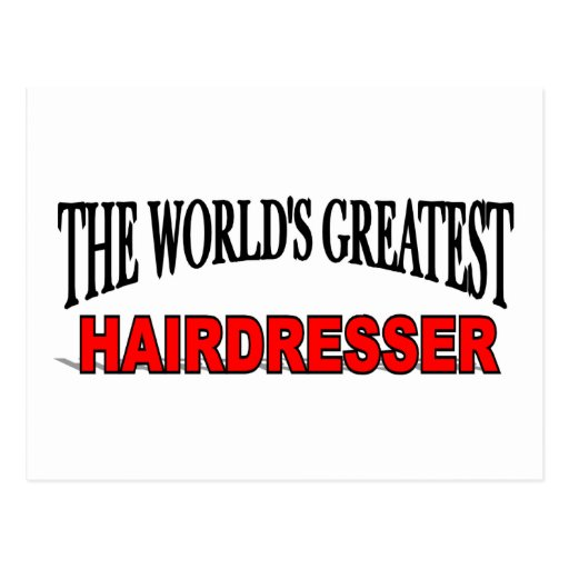 El peluquero más grande del mundo postales